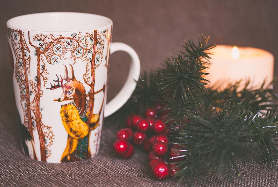 Taza Sublimada para Nvidad
