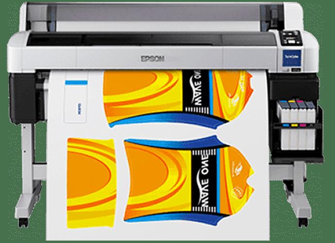 Impresora para estampados por sublimación textil