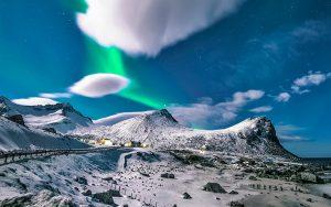imagen de sublimación en montaña