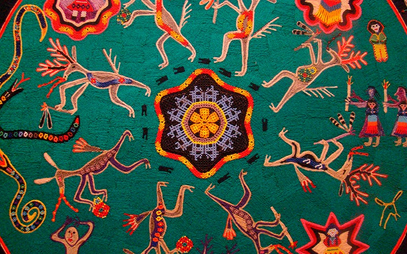 bordado indigena mexicano