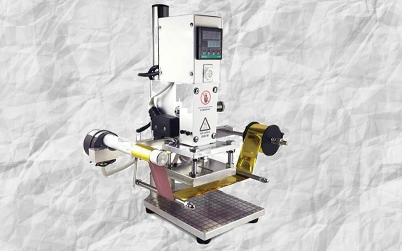 Maquina manual hot foil stamping