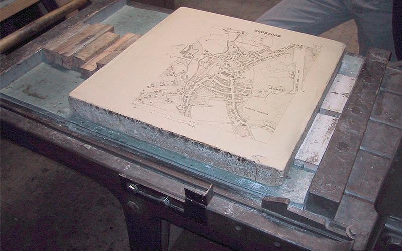Imprenta litográfica