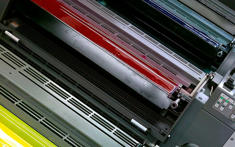 offset litografía