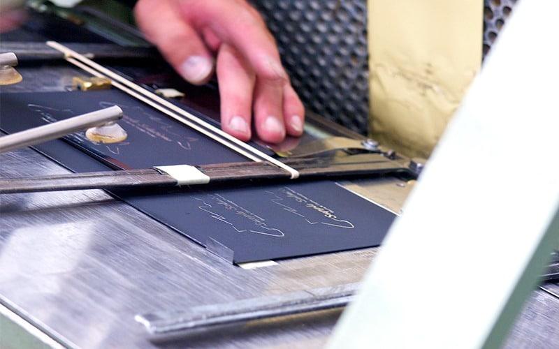 impresión por folio termograbado