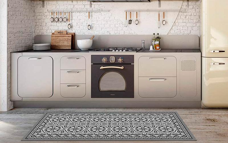 alfombra vinílica cocina