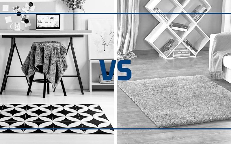 alfombras de vinilo vs clásicas